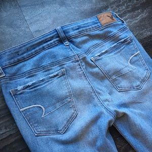 American Eagle Outfitters Jeans - American Eagle Super Super Stretch Denim Jegging